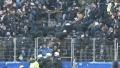 Troubles on Hamburger - Hertha 17.03.2018