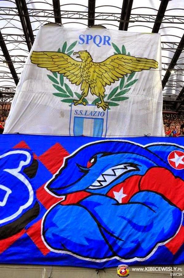 New friendship. Wisla Krakow and Lazio!!! - Hooligans TV ...