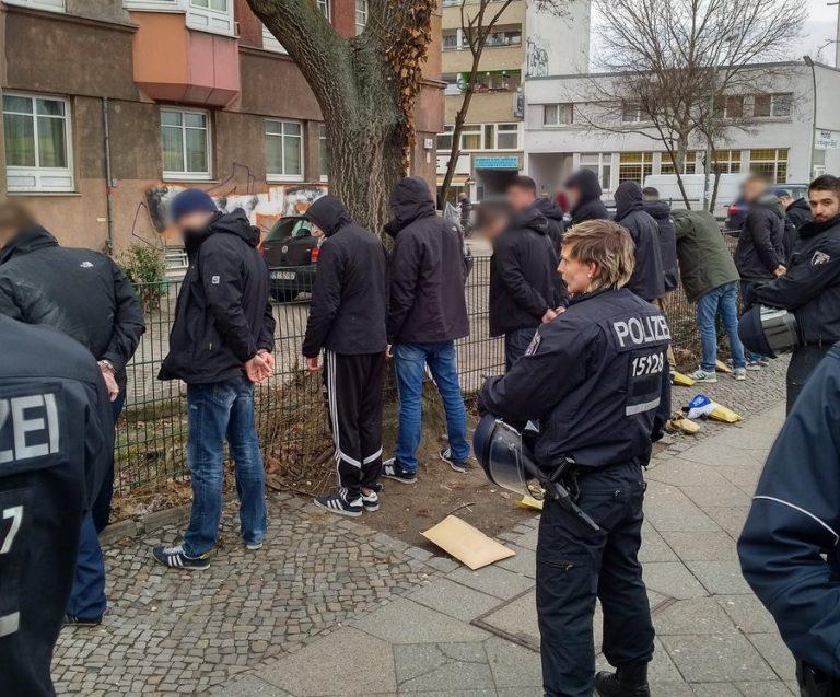 Hertha Frankfurt Hooligans