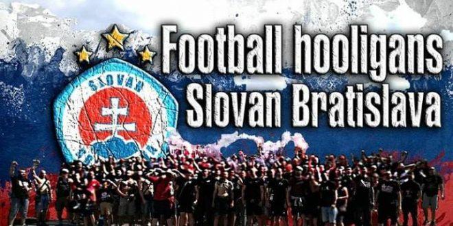 A new short document about Slovan Bratislava hooligans 2018
