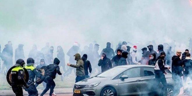 Riots in Rotterdam 08.05.2021